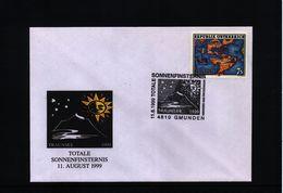 Austria 1999 Total Solar Eclipse Interesting Cover - Astronomy