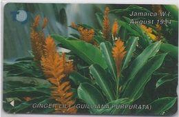 JAMAICA - GINGER LILY - FLOWER - 17JAMB - Jamaica