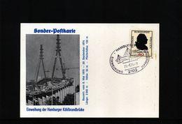 Deutschland / Germany 1974 Koehlbrandbruecke / Bridge Interesting Postcard - Brücken