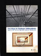 Deutschland / Germany 1974 Koehlbrandbruecke Interesting Postcard - Brücken