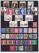 Engeland Kleine Verzameling Gestempeld, Zeer Mooi Lot 2833 , KOOPJE, Bieden Vanaf 1 € - Timbres