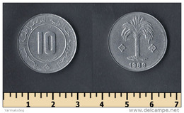 Algeria 10 Centimes 1989 - Algeria