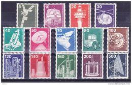 Duitsland 1975 Nr 695/708 ** Zeer Mooi Lot Krt 3805 , KOOPJE, Bieden Vanaf 1 € - [7] République Fédérale