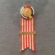 Badge (Pin) ZN006139 - Boxing Balkan Championships Turkey Ankara 1972 SPORTMAN - Boxing