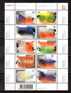 2004   Pays-Bas, élargissement Union Européenne, Yv. 2129  / 2138**en Feuillet, Cote 12,50 €, - Unused Stamps