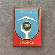 Badge (Pin) ZN006140 - Diving (Wasserspringen) Swimming Balkan Championships Turkey Izmir 1969 SPORCU - Diving