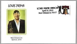 Trompetista De Jazz LOUIS PRIMA. New Orleans 2010 - Cantantes