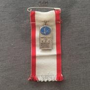 Badge (Pin) ZN006147 - Rhythmic Gymnastics Brother Cup Tokyo Japan 1982 - Gymnastics
