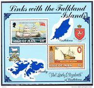 Isle Of Man 1984 Blok Nr 7 ** Zeer Mooi Lot Krt 3809 , KOOPJE, Bieden Vanaf 1 € - Stamps