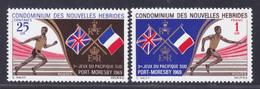 NOUVELLES-HEBRIDES N°  282 & 283 ** MNH Neufs Sans Charnière,  TB  (D3437) Sport, Jeux Pacifique Sud - Légende Française