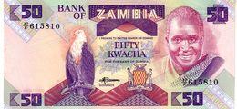 Zambia P.28 50 Kwacha 1988  Unc - Zambia