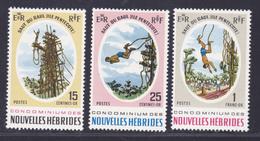 NOUVELLES-HEBRIDES N°  286 à 288 ** MNH Neufs Sans Charnière,  TB  (D3438) Saut Du Gaul - Légende Française