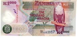 Zambia P.44 1000 Kwacha 2011 Unc - Zambia