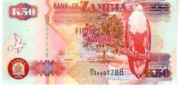 Zambia P.37  50 Kwacha  2008  Unc - Zambie