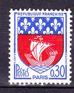 N°1354B Armoiries De La Ville De Paris: Un Timbre Neuf Impeccable Sans Charnière - Frankrijk