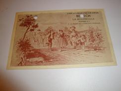 63 LA BOURBOULE VINS ET LIQUEURS EN GROS BENECH CLERMONT AUVERGNE - La Bourboule