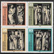 DDR 1983 / MiNr.   2808 – 2811  Viererblock        ** / MNH   (s305) - Blocks & Kleinbögen