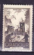 N° 742 Anniversaire De La Destruction D'Oradour Que Glane: Un  Timbre  Neuf Impeccable Sans Charnière - Francia