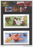 Bhutan 1999. Michel #1917/35+Bl.#394/97 MNH/Luxe. Butterflies. (B25) - Bhutan