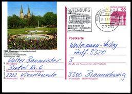 83633) BRD - P 138 - R4/55 - OO Gestempelt - 7320 Göppingen, Oberhofenkirche - [7] West-Duitsland