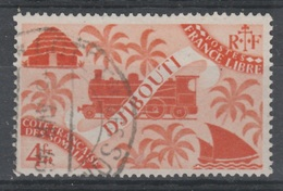 French Somali Coast, London Set, 4f., 1943, VFU - Costa Francese Dei Somali (1894-1967)