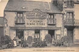 44 - LOIRE ATLANTIQUE / Le Croisic - 44931 - Hôtel Restaurant De La Gare - Beau Cliché Animé - Le Croisic