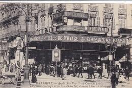 13 / MARSEILLE / ANGLE RUE NOAILLES ET COURS SAINT LOUIS / LA FAMEUSE HORLOGE DE LA CIE ZENITH - Marseilles