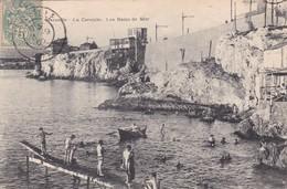 13 / MARSEILLE / LA CORNICHE / LES BAINS DE MER - Marseille