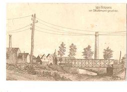 59-2558 DEULEMONT Les ECLUSES Dessin - Sonstige Gemeinden