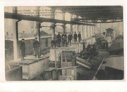 59-2565 JEUMONT Train, Quai De La Douane, Carte Pub Maison Draguet & Cie, Service De Dédouanement - Jeumont