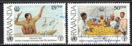 RWANDA - 1992 - CONFERENZA INTERNAZIONALE SULLA NUTRIZIONE - USATI - Rwanda