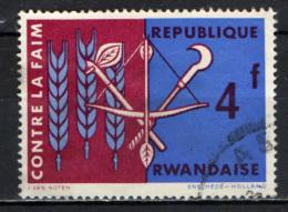 RWANDA - 1963 - FREEDOM FROM HUNGER - USATO - Rwanda