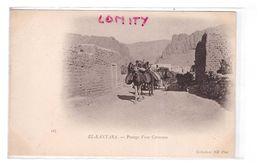 Algérie Oued El Kantara Cpa Passage D' Une Caravane  Cpa Animée - Autres Villes