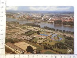CPM (67) Bas Rhin - STRASBOURG - NEUDORF - Vue Aérienne : Le Rhin ... - Strasbourg
