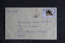 Lettre Du GABON Vers FRANCE - Gabon