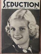 Séduction N°151 (19 Sept 1936) L'école De La Séduction - Femmes Nues - Boeken, Tijdschriften, Stripverhalen