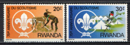 RUANDA - 1983 - SCOUT - NUOVI MNH - Rwanda