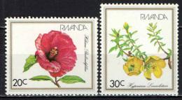 RUANDA - 1982 - FIORI - FLOWERS - NUOVI MNH - Rwanda