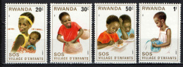 RUANDA - 1981 - SOS Children's Village - NUOVI MNH - Rwanda