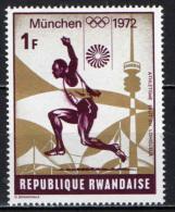 RUANDA - 1972 - OLIMPIADI DI MONACO DI BAVIERA - NUOVO MNH - Rwanda