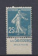 France Publicité - YT N° 140 - Neuf Avec Charnière * - Le Secours - Advertising