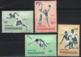 RUANDA - 1964 - OLIMPIADI DI TOKIO - NUOVI MNH - Rwanda