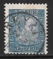 Iceland, Scott # 40 Used Christian IX, 1902 - 1873-1918 Deense Afhankelijkheid
