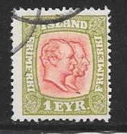 Iceland, Scott # 99 Used 2 Kings, 1915 - Oblitérés