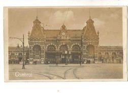 59-2586 CAMBRAI Gare Carte Photo - Cambrai