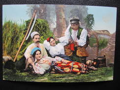 AK UKRAINE Typen Costumi 1917 Feldpost 423b  // D*29271 - Ukraine