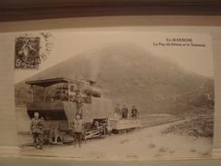 03 15 43 63 ALLIER CANTAL HAUTE LOIRE PUY DE DOME EN AUVERGNE  LE PUY DE DOME ET LE TRAMWAY REPRO - Auvergne