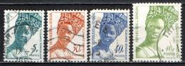 SENEGAL - 1972 - MODA SENEGALESE - USATI - Senegal (1960-...)