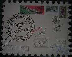 TAAF 1999 - Carnet De Voyage, Avec 12 Feuillets Neufs **- Terres Australes Et Antartiques Françaises - Départ Petit Prix - French Southern And Antarctic Territories (TAAF)