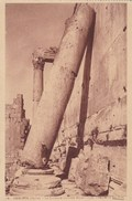 CPA Baalbek, Syrie, La Colonne Inclinée Depuis 1559 (pk40955) - Syrie